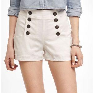 Aritzia Talula nautical shorts